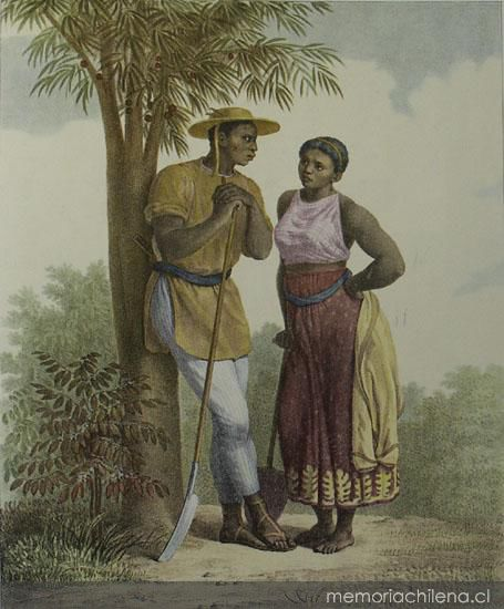 La esclavitud negra en Chile 15361823  Memoria Chilena