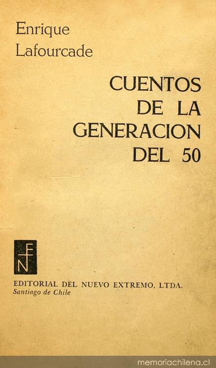 Cuentos de la generación del 50