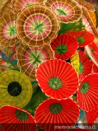 Flores en fibra de Rari, 2009
