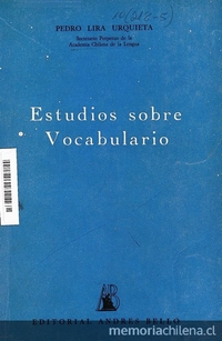 Estudios sobre vocabulario