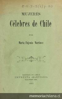 Mujeres célebres de Chile