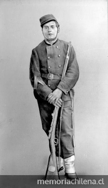 Pie de foto: Luis Cruz Martínez, 1880.