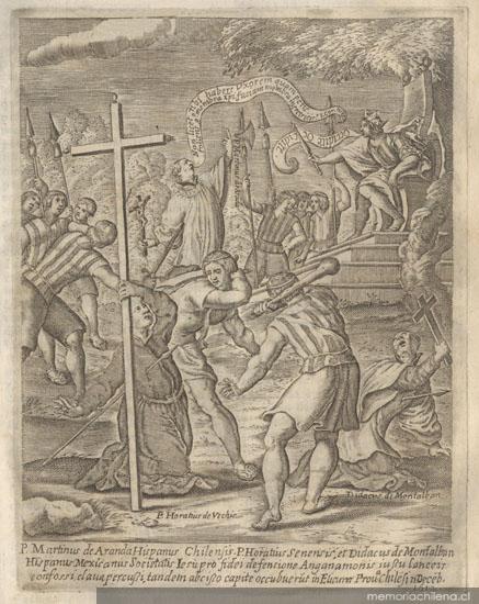 Misioneros jesuitas martirizados