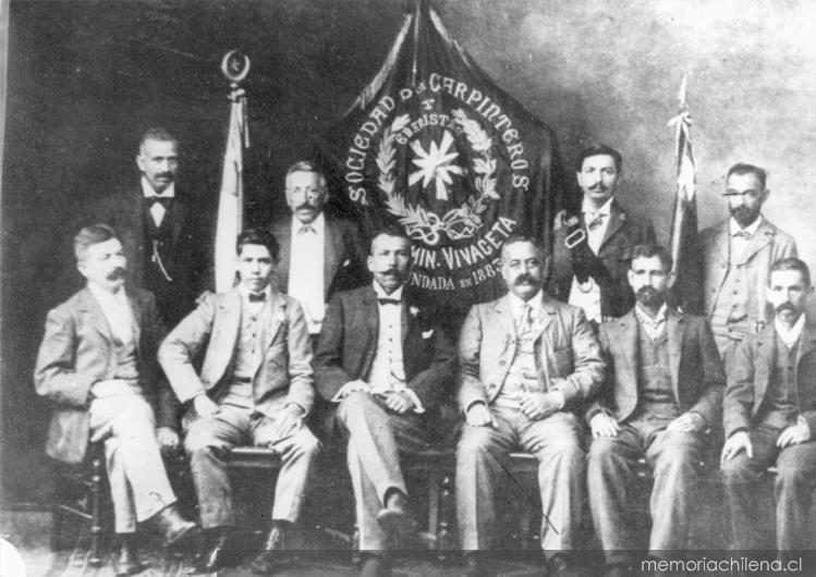 Sociedad de Socorros Mutuos Fermín Vivaceta, 1912