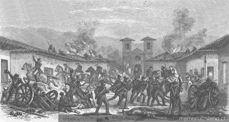 Combate de Rancagua, octubre de 1814