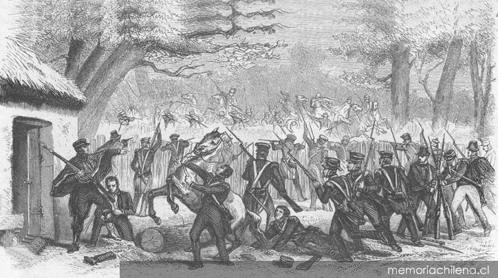Combate de El Roble, octubre de 1813