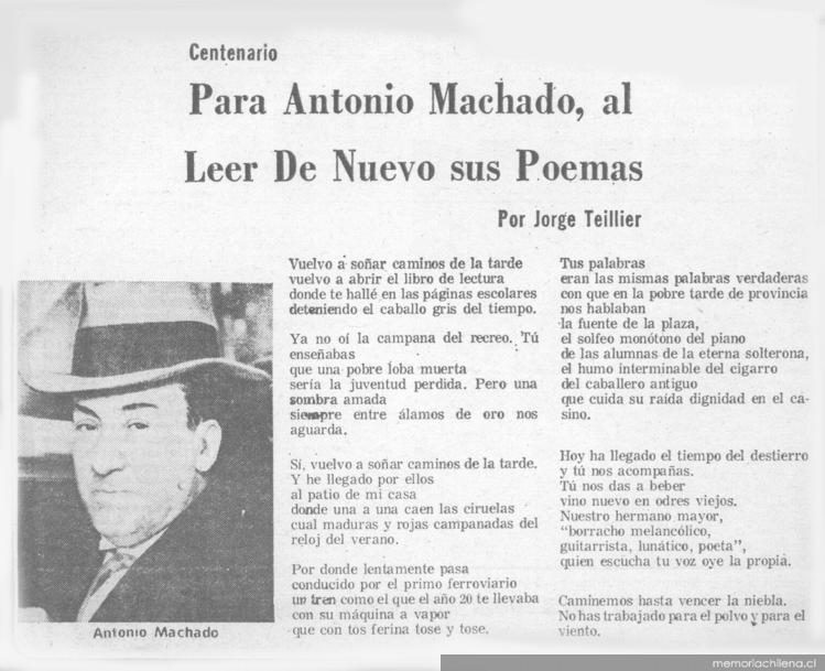 Poemas De Aniversario: Poemas De Graduacion De Antonio Machado Poemas De