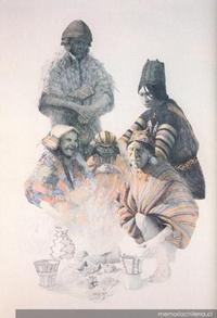 Personajes ariqueños del período Tiwanaku (300-1.100 d.C)