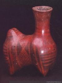 Botella zoomorfa : cultura El Molle (0-700 d.C)