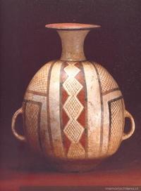 Aríbalo : cultura Diaguita-Inka : Fase III (1470-1536 d.C.)