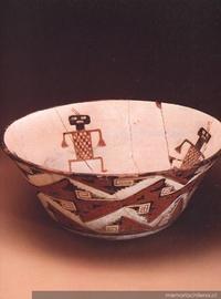 Escudilla : cultura Diaguita-Inka : Fase III (1470-1536 d.C.)