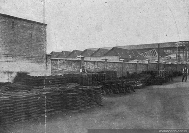 F brica de sacos de papel de luis phillips santiago 1928 for Fabrica de baldosas en santiago