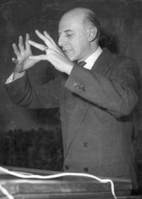 Jaime Eyzaguirre, hacia 1950