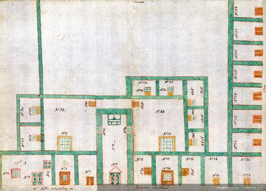 Cárcel, capilla de San Antonio y cuartos de alquiler de la villa de ...