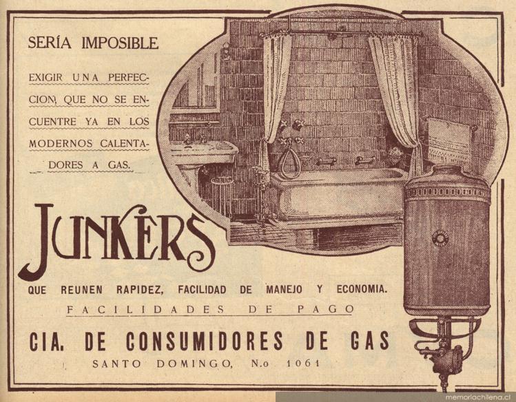 Calentadores a gas junkers memoria chilena biblioteca - Calentadores a gas ...
