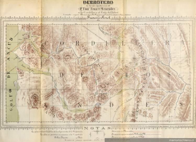 Derrotero de las dos espediciones del Fray Francisco Menéndez a la ...