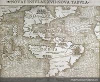 Nova Insulae XVII Nova Tabula, 1540