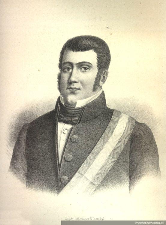 José Tomás Ovalle, Presidente de la República, 1830-1831