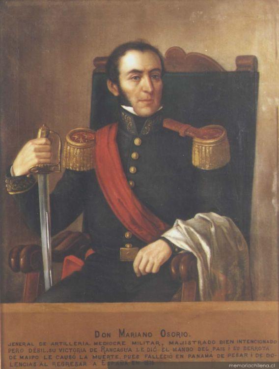 Mariano Osorio, 1816