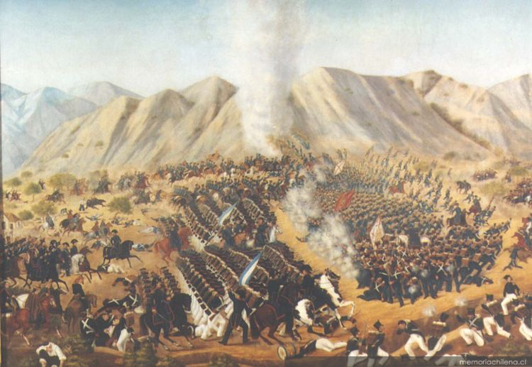 La batalla de chacabuco - 1 1