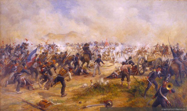 Batalla de Maipú, 3 de abril de 1818