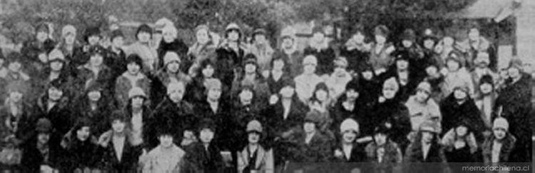 Unión Femenina de Chile, Valparaíso. Primera Asamblea, década del treinta
