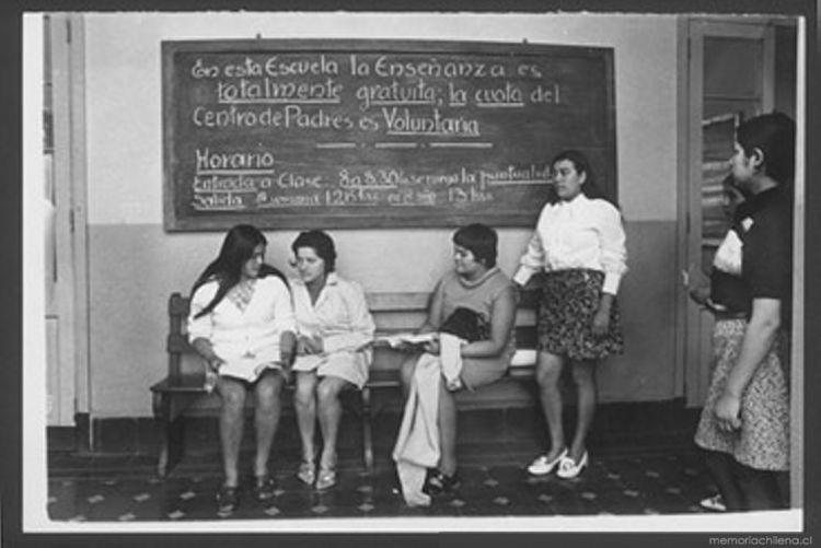 Mujeres y trabajo - Memoria Chilena d71dc6ad919