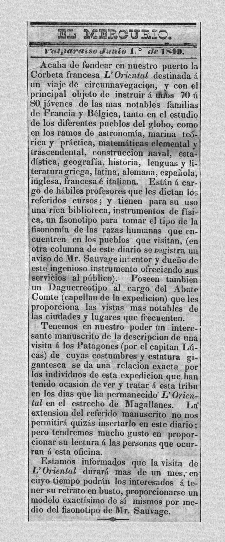 1840 - Memoria Chilena, Biblioteca Nacional de Chile
