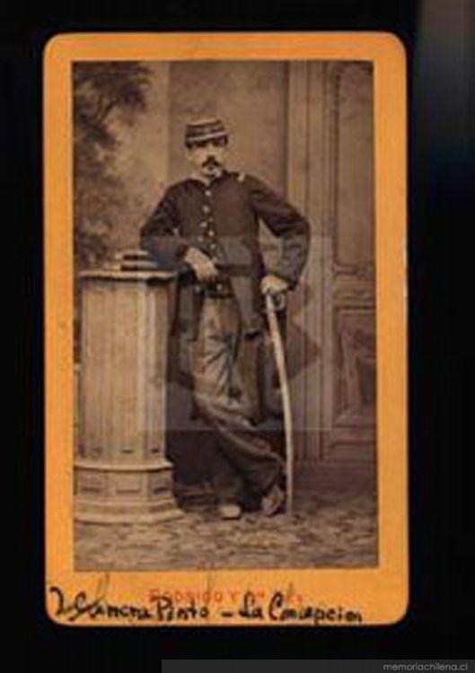 Ignacio Carrera Pinto, ca. 1880