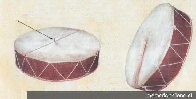 Caja challera de la colección particular de Margot Loyola y Osvaldo Cádiz, 1975