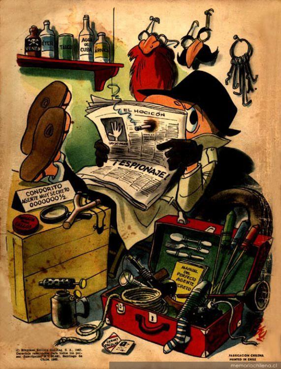 Condorito detective, 1965