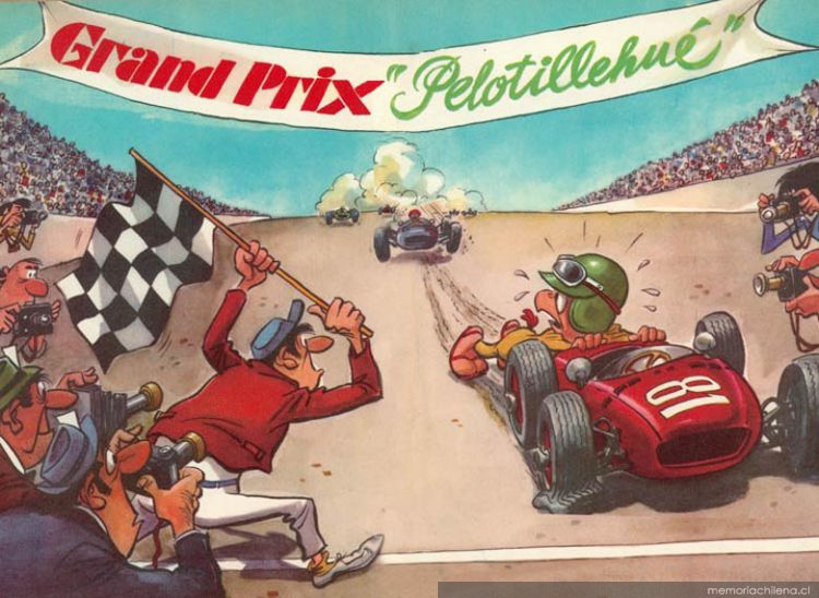 Condorito automovilista, 1968