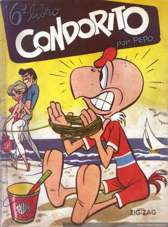 """Personajes de """"Condorito"""", 1960"""