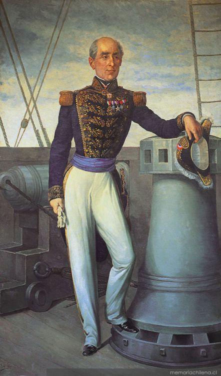 Vicealmirante Manuel Blanco Encalada - Memoria Chilena