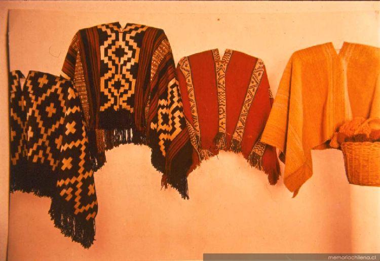 Mantas mapuche