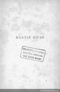 Martin rivas alberto blest gana