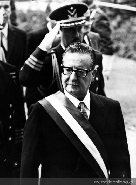 Salvador Allende Gossens 1908 1973 Memoria Chilena Biblioteca Nacional De Chile