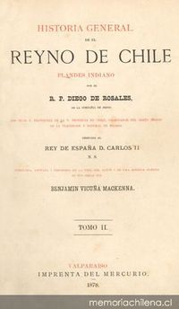 Historia general de el Reyno de Chile: Flandes Indiano
