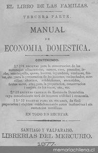 Manual de econom a dom stica memoria chilena portal - Economia domestica consejos ...