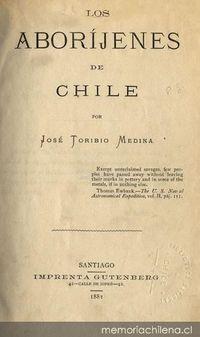 Los aboríjenes de Chile
