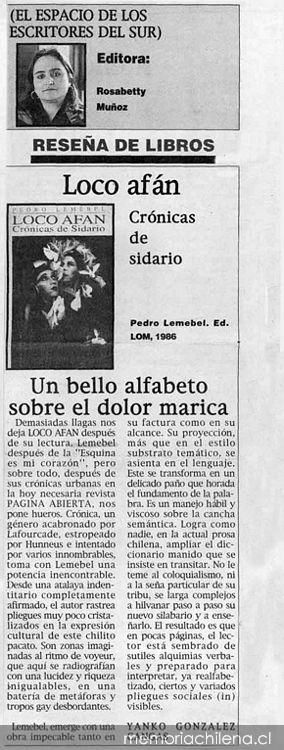 chilena marica
