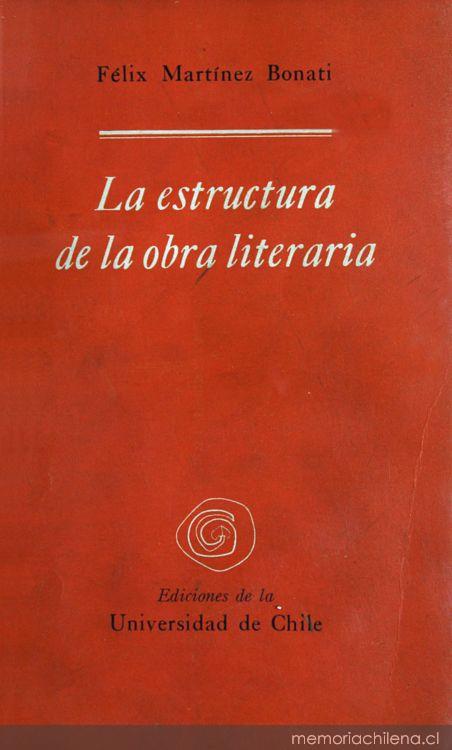 Portada De La Estructura De La Obra Literaria 1960