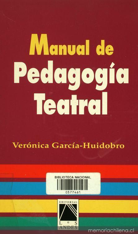 Resultado de imagen para MANUAL DE PEDAGOGIA TEATRAL