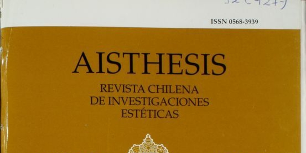 aisthesis revista chilena [img] link ---- architectural thesis proposal philippines essay writing service aisthesis revista chilena best trip essays brave new world 1984 essay.