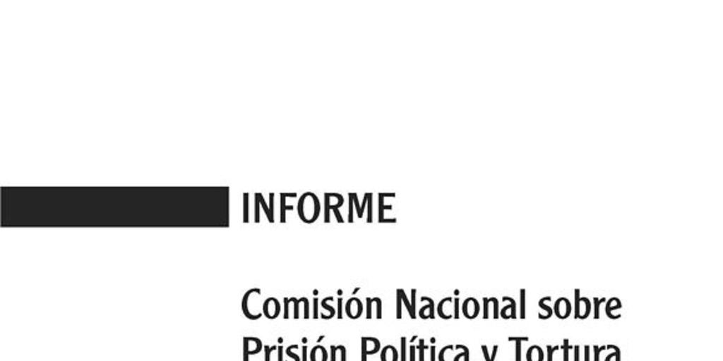 Valech pdf informe