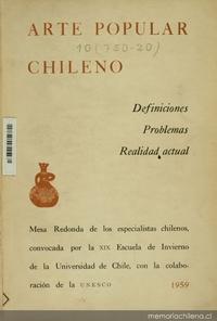 La técnica cerámica en Quinchamalí: ampliación de una encuesta realizada por don Tomás Lago
