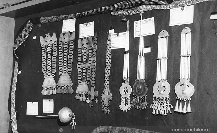 Joyería mapuche, Museo Mapuche de Cañete, Chile