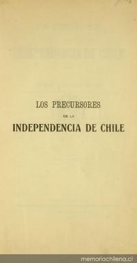 Los precursores de la independencia de Chile: tomo III