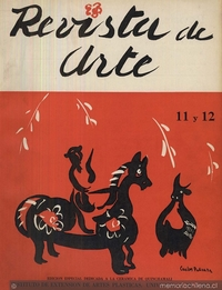 Revista de arte: n° 11-12, 1958