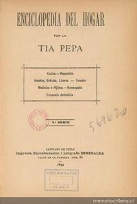 Enciclopedia del hogar de la t a pepa memoria chilena for Enciclopedia de cocina pdf